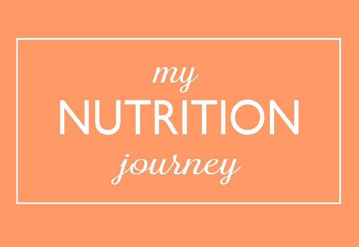 my nutrition journey