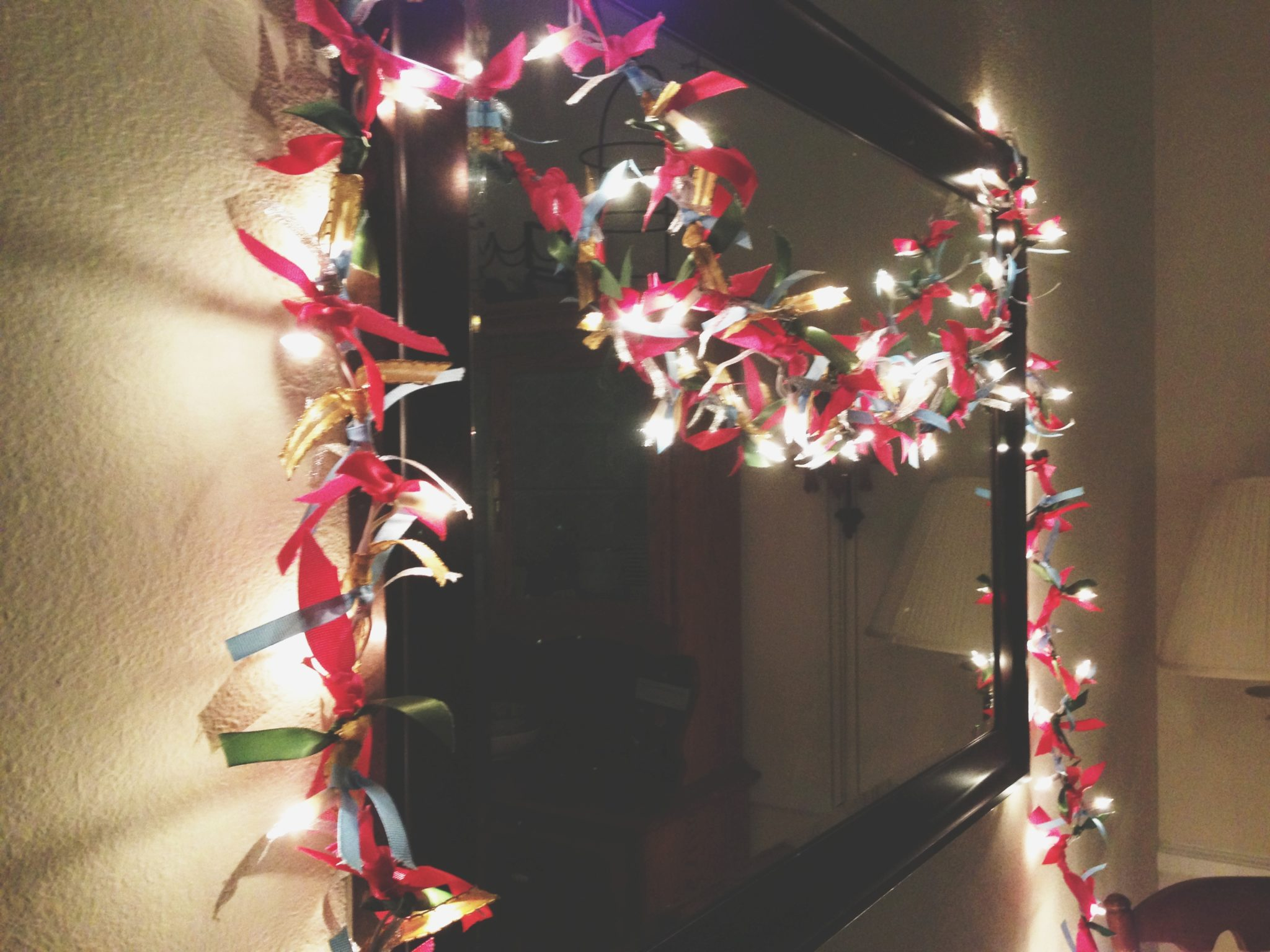 my pretty pennies: holiday garland