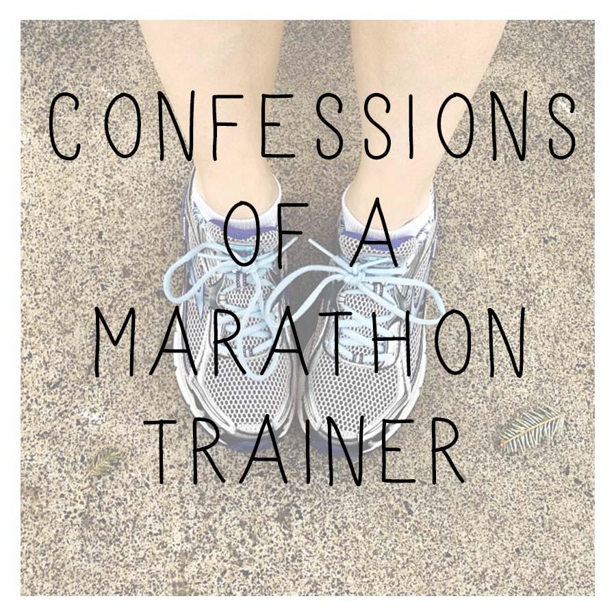 confessions of a marathon trainer