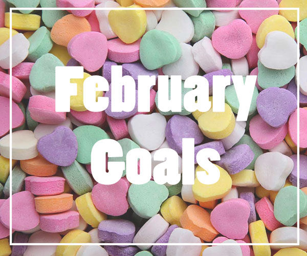 February Goals from My Pretty Pennies