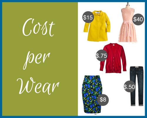 Cost-per-Wear