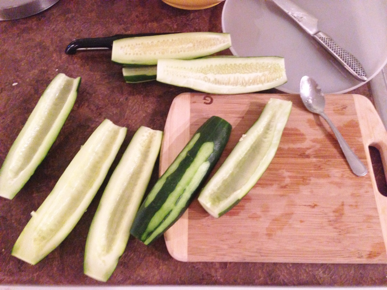 Cucumber Salad | My Pretty Pennies