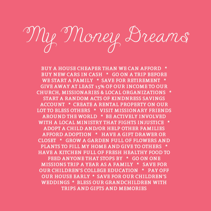 My-Money-Dreams
