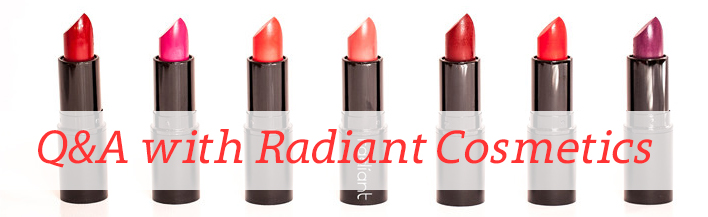 Q&A with Radiant Cosmetics