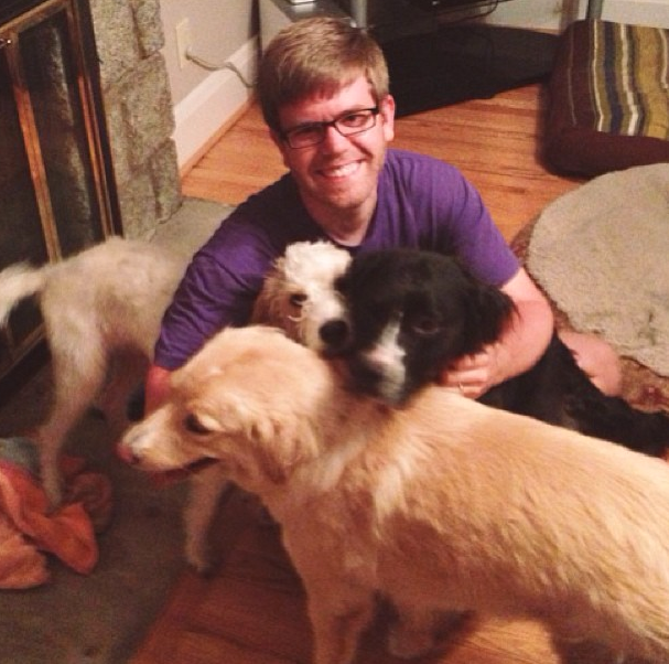 jeff and the pups