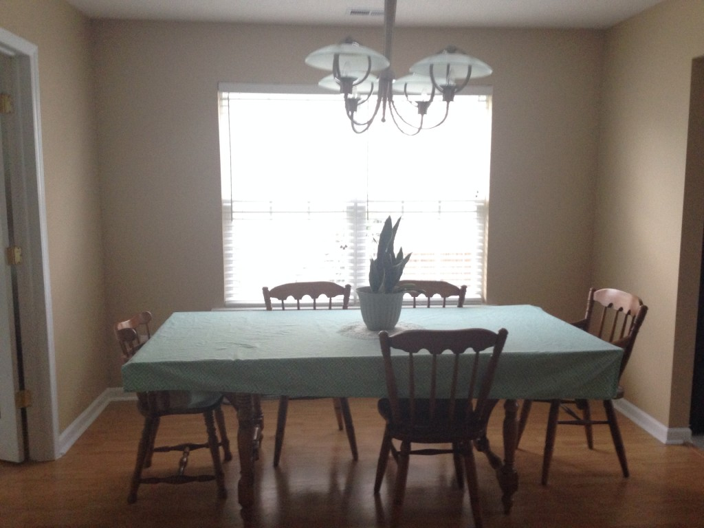 dining room, before