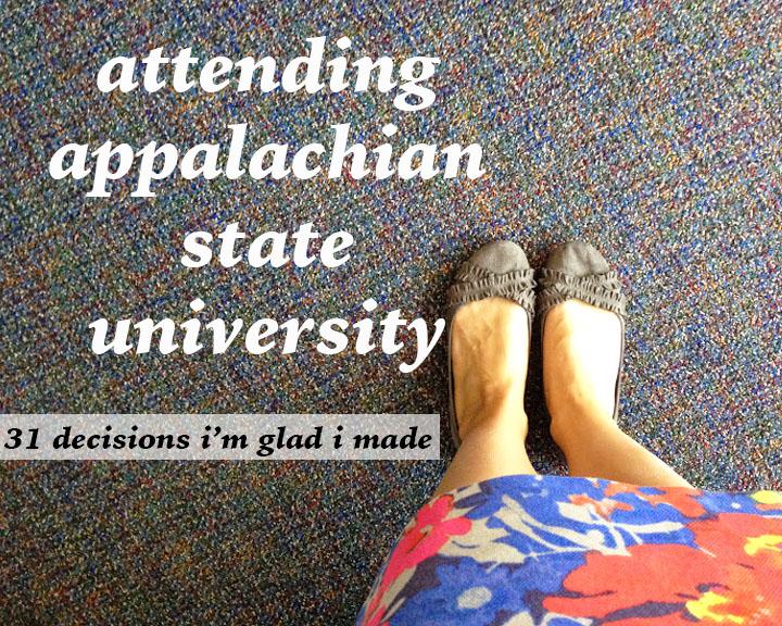attending appalachian state