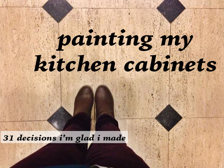 painting my kitchen cabinets