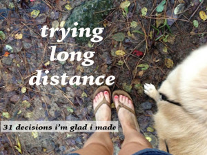 trying long distance