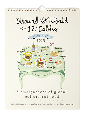 around the world cuisine calendar