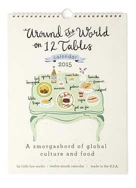 around the world cuisine calendar