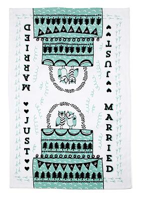 just married towel