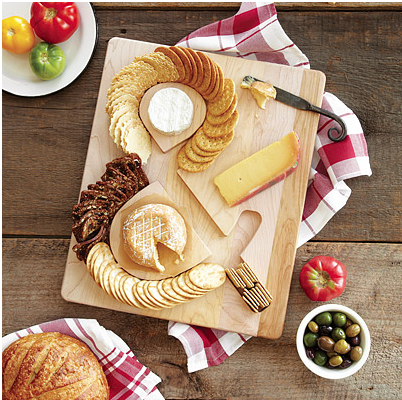 ampersand cheese board
