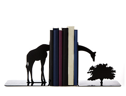 Girafe bookends