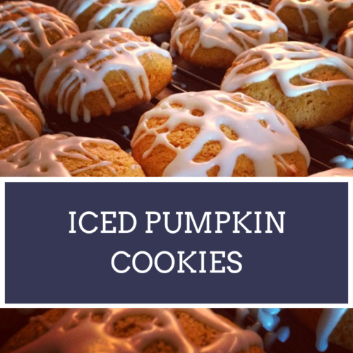 Iced Pumpkin Cookie - my favorite fall treat!