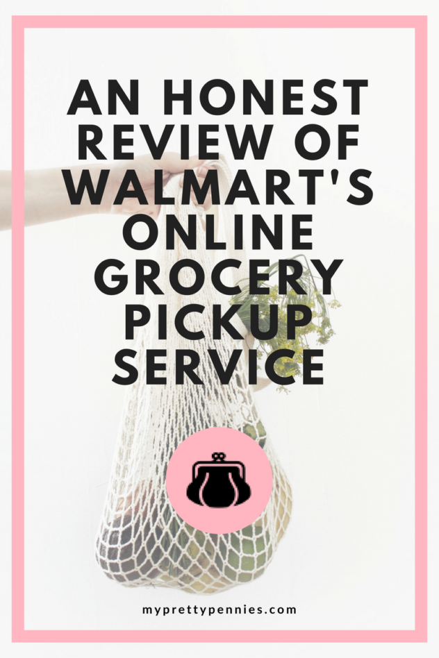 An Honest Review of Walmart's Online Grocery Pickup Service - All the details behind Walmart's online grocery pickup, including how to order groceries, pick up, and save yourself money and time.