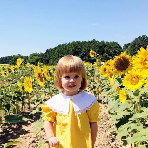 lenora in the sunflowers