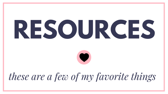 My Pretty Pennies Resources - These are a few of my favorite things