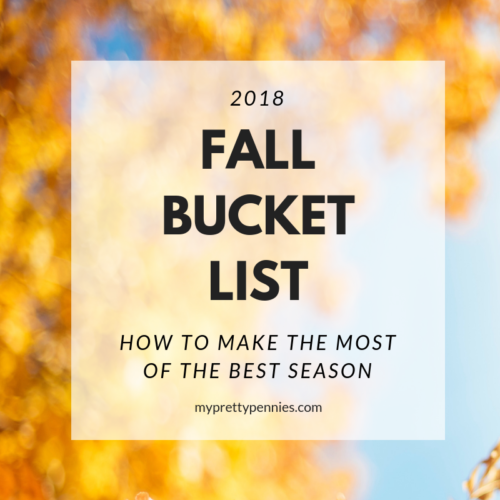 Fall Bucket List - How to make the most of the best season
